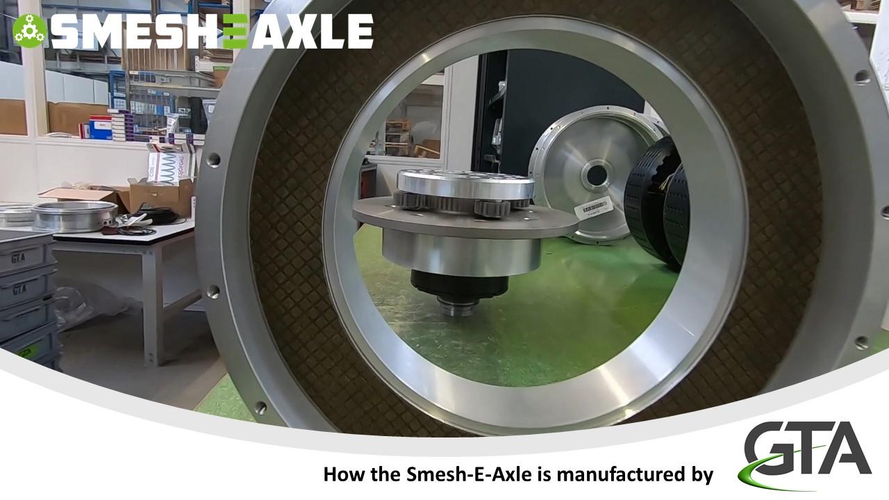 Smesh-E-Axle schakelt naar de eerste versnelling!
